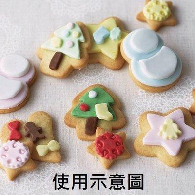 ❤Lika小舖❤日本製- 貝印餅乾壓模-還可壓蔬菜-火腿-起司 聖誕節 星星雪人聖誕樹 加贈糖果餅乾包裝袋+翻糖模型一片