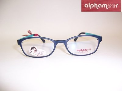 光寶眼鏡城(台南)alphameer許瑋甯代言,ULTEM最輕鎢碳塑鋼有鼻墊眼鏡*AM-3503/C105