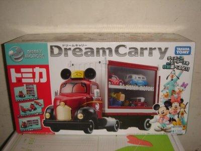 1風火輪美捷輪麥坤TOMICA多美合金車迪士尼Disney米老鼠米奇夢幻貨櫃車收藏車收納車運輸車聯結車九佰五十一元起標
