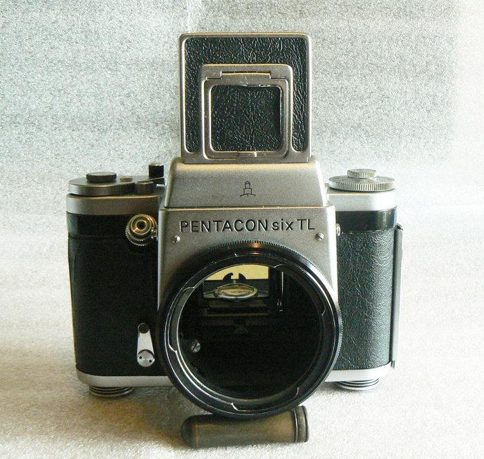 【悠悠山河】德國 120中片幅機械底片相機 Pentacon six TL P6口 腰平觀景器 高CP值美品 CLA保養