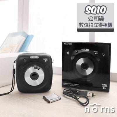 Norns 【SQ10數位拍立得相機 黑色公司貨】 日本富士INSTAX SQUARE 方形底片 相印機 印相機