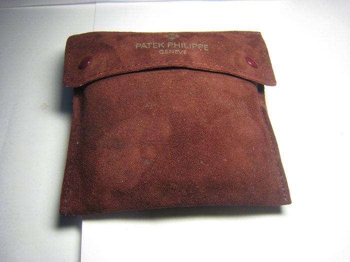 Patek Philippe 百達翡麗 攜型表袋  現錶盒都是環保材質 1~2年就都碎屑了 所以這個都是收藏品都絕版了