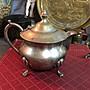 白明月藝術/古物雜貨店 歐洲早期銅鍍銀壺 vintage