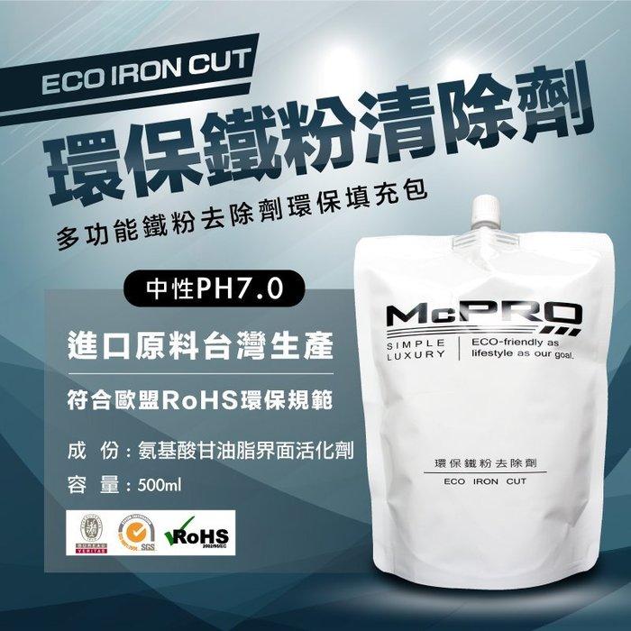 McPRO 高濃度鐵粉劑環保填充包裝500ml(DIY鍍膜 車體鍍膜 奈米 9H 陶瓷 瓷釉 封體)含免費教學