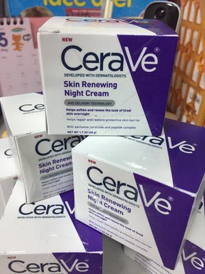 CeraVe Skin Renewing Night Cream 保濕滋潤晚霜—平價版海洋娜拉【CE0003】
