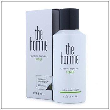韓國進口 It`s Skin THE HOMME WHITENING TREATMENT TONER 男人味亮白化妝水