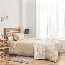 床包 / 單人【簡單生活系列-淺色可選】含一件枕套  100%精梳棉  戀家小舖台灣製AAA101