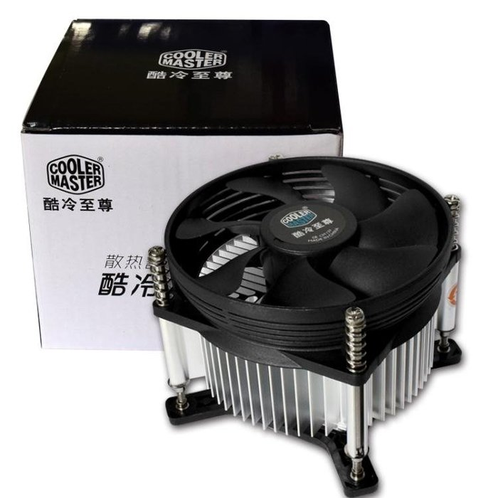 CPU散熱器酷冷至尊電腦CPU風扇 775針1155/1151靜音 CPU散熱器下壓式全館免運 〖花開物語〗wy