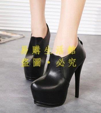[王哥廠家直销]時尚歐美風 性感夜點羅馬靴 細跟防水臺高跟裸靴 短靴 4257 #嵐LeGou_1243_1243
