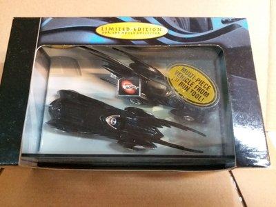 Hotwheels Batman Forever Batmobile Limited Edition box set- 絕版 全新 (注意內文/交收地點及時間)