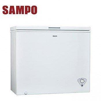 泰昀嚴選 SAMPO聲寶200公升冷凍櫃 SRF-201 另有特價SRF-301 SRF-180S SRF-39S