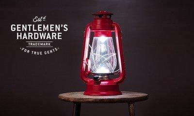 GOODFORIT / 英國Gentlemen's Hardware Hurricane Lamp LED防風燈