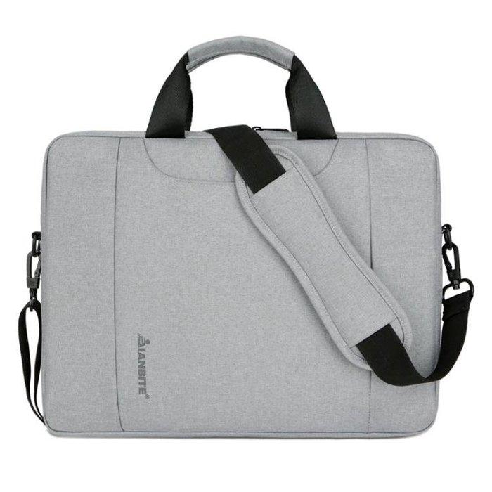 電腦包 蘋果戴爾華碩小米惠普單肩時尚小清新筆記本電腦包女手提男袋