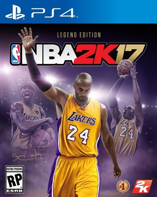 2K17 NBA PS4 傳奇珍藏版 Legend Edition 美版 有中文 現貨供應中 可馬上出貨