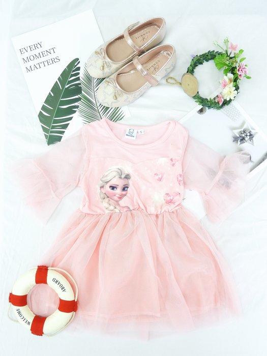 [木馬家]粉色夢幻公主小洋裝 童裝