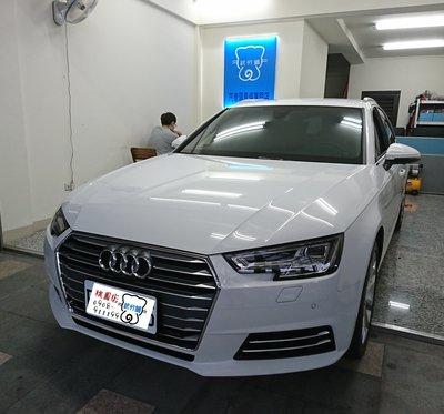 Audi A4 Avant-A柱(B字型)+B柱+C柱+四車門下方+後擋雨切 汽車隔音條 套裝組【武分舖-桃園店】