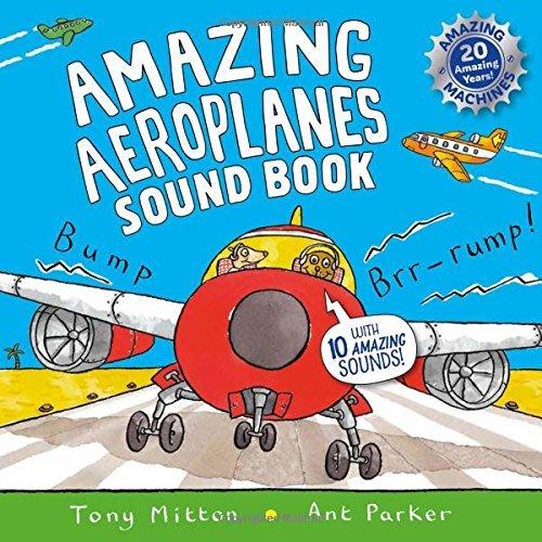 *小貝比的家*AMAZING AEROPLANES SOUND BOOK /聲音書/3~6歲