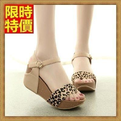 涼鞋 厚底坡跟涼鞋 楔型涼鞋-夏季時尚真皮馬毛女鞋子3色69w36[獨家進口][米蘭精品]
