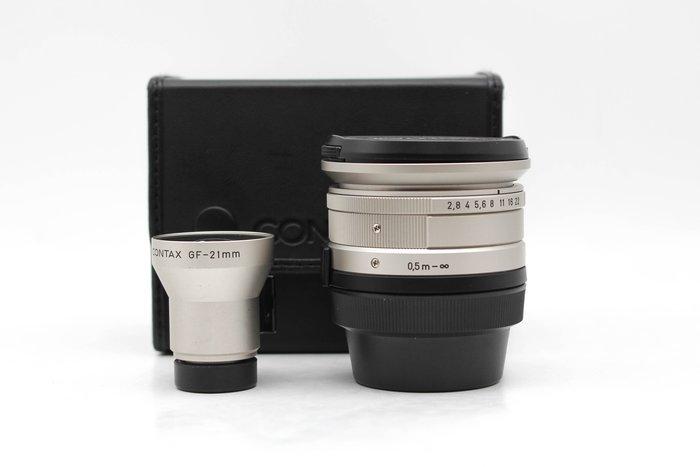 【高雄青蘋果3C】Contax GF-21mm 觀景窗 + Contax Biogon 21mm f2.8 #31544