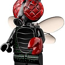 LEGO COLLECTABLE MINIFIGURES 71010 Fly Monster 烏蠅人 人仔 一隻