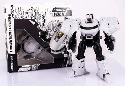 MAAS Toys CT001W Skiff 塞伯坦形態 限定 白色大黃蜂 盒裝