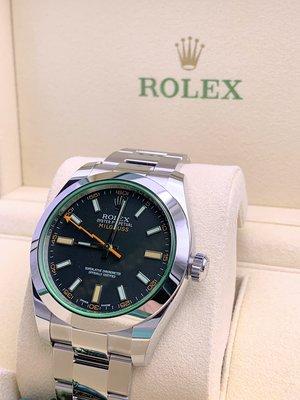 勞力士 Rolex 116400 GV Milgauss blk (全新,歐洲水貨)