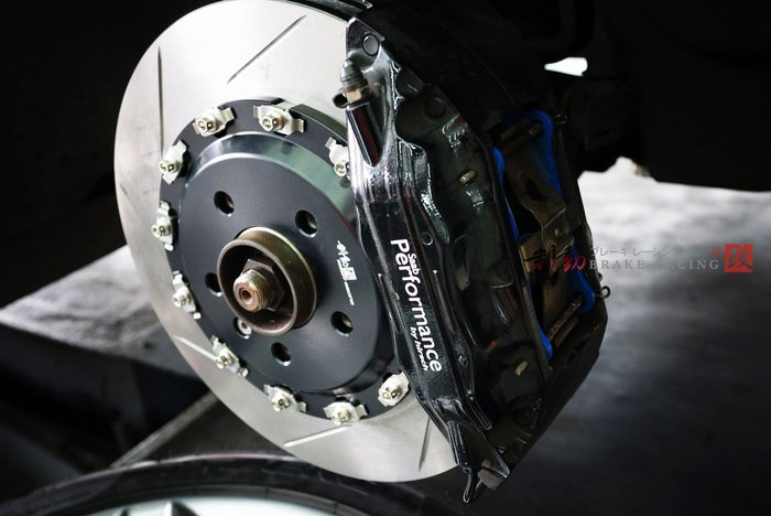 訂製 BREMBO F50 by hirsch F40 EVO 四活塞卡鉗 330x32 專用雙片式全浮動盤 / 制動改