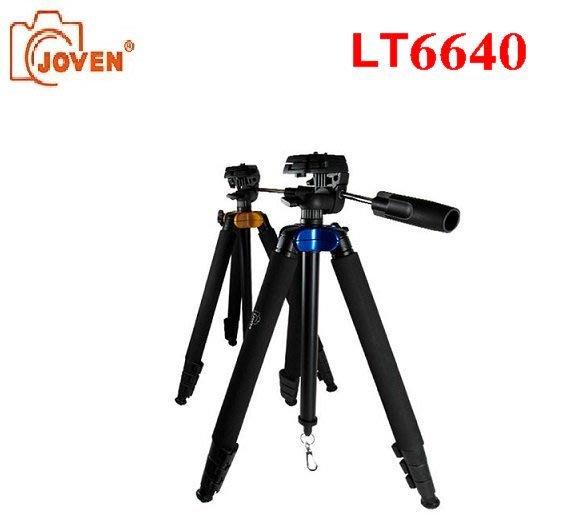 ((名揚數位 ))   JOVEN LT6640 腳架 (藍/橘)  輕型腳架 旅遊腳架 適用一般 類單眼 DC