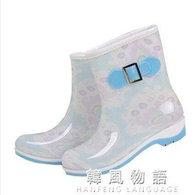 999夏季防滑雨鞋女水鞋膠鞋春秋女雨靴女成人可加絨中筒雨鞋水靴套鞋下單後請備註顏色尺寸