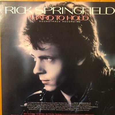 [發燒美版原聲帶] Rick Springfield 瑞克史普林菲爾 Hard To Hold (電影原聲帶)