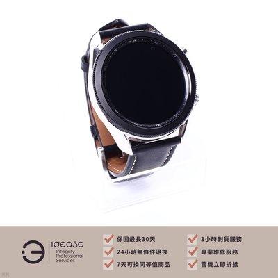 「標價再打97折」Samsung Galaxy Watch 3 45MM 智慧手錶 鈦金銀【保固到2022年3月】SM-R840 45MM 藍牙手錶 CD461