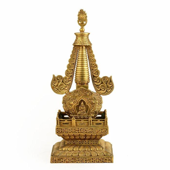 優品佛系☼銅佛塔 舍利塔 寶塔擺件 佛教用品用具 舍利佛塔 可開蓋