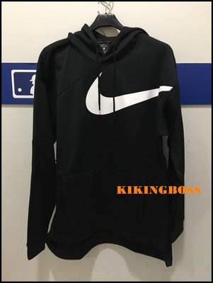 【喬治城】Nike Therma Hoodie 男子訓練連帽衫 防潑水 AJ9264-010 超取免運