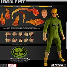 Mezco ONE:12 COLLECTIVE IRON FIST FIGURE\n\n