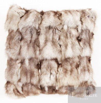 【 LondonEYE 】NeoClassic新古典X奢華織品系列X抱枕套 高端狐狸毛環保皮草 豪宅/樣品屋 CN02