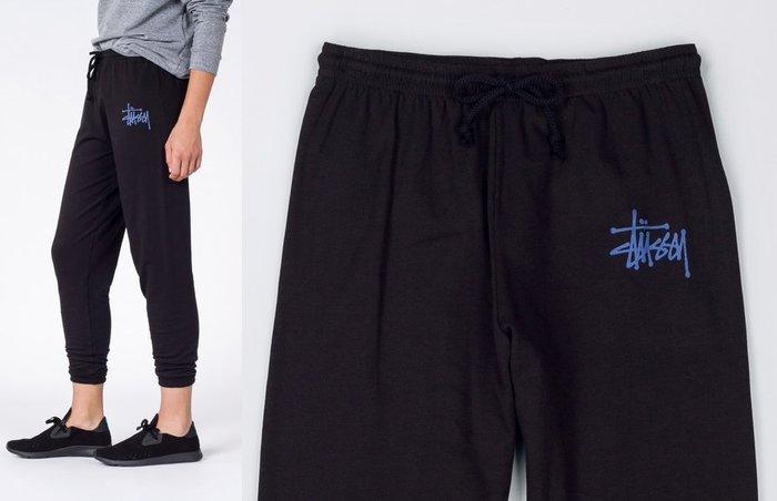 【超搶手】全新正品 女裝 最新款STUSSY BASIC STUSSY SWEATPANT 字體 棉褲 縮口褲 XS S