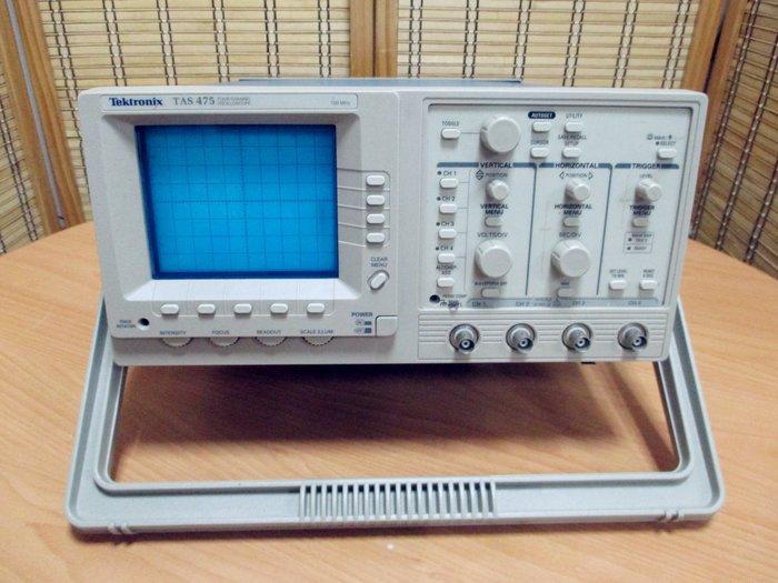 康榮科技二手測試儀器Tektronix TAS475 100MHz 4CH Oscilloscope Analog學生案