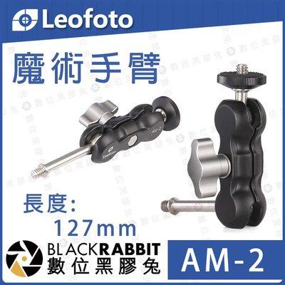 數位黑膠兔【 LEOFOTO 徠圖 AM-2 魔術手臂】 怪手 延伸 連接 相機 手機 麥克風 持續燈 腳架 支架