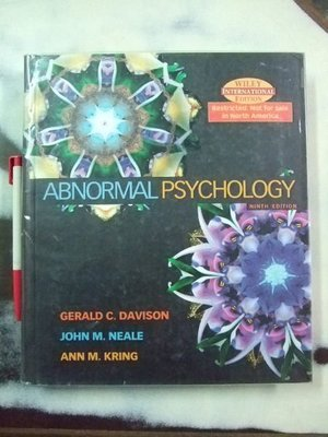 6980銤:A6☆2004年『Abnormal Psychology Ninth Edition』Davison等著《Wiley》ISBN:0471449105
