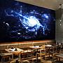 客製化壁貼 店面保障 編號F- 786 宇宙星雲 壁...