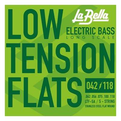 大鼻子樂器 La Bella 貝斯弦 4弦 LTF-4A Low Tension Flats