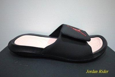 喬丹騎士 NIKE Air Jordan Hydro 6 可調式 輕量 運動 拖鞋 黑紅 大飛人 AJ 11代配色 XI