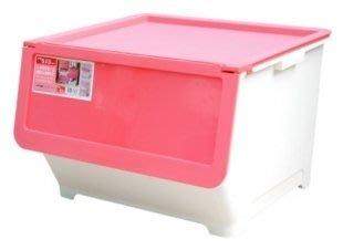 315百貨~鮮豔亮采風~LV8002 LV800-2 前開式65L整理箱(紅)-1入 /寵物碗寵物項鍊夜行項圈狗骨頭收納