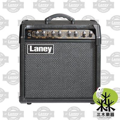 【三木樂器】公司貨 Laney LR20 電吉他 音箱 電吉他音箱 吉他音箱 LINEBACKER 內建數位效果器