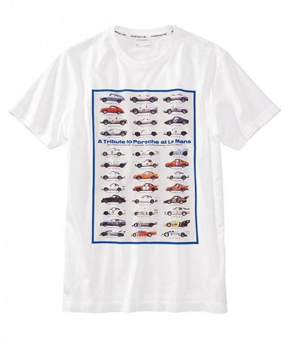 Porsche 保時捷利曼賽事T-Shirt