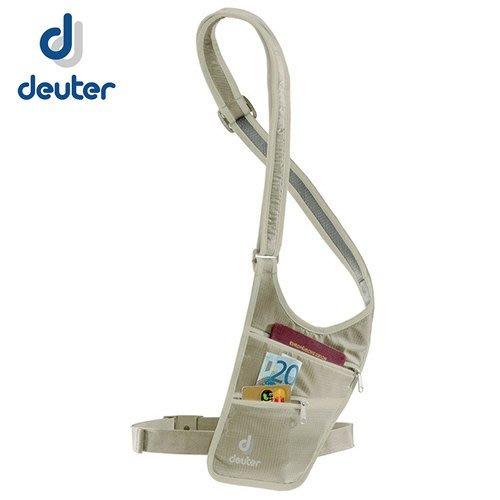 丹大戶外【Deuter】德國 Security Holster 隱藏式小錢包 39220 卡其