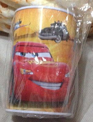 全新迪士尼Cars 汽車總動員圓柱存錢筒/CARS儲錢罐/閃電麥坤可樂存錢筒