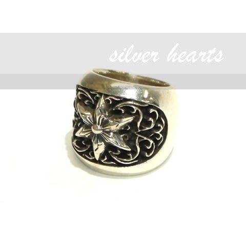 【SILVER HEARTS】Goro's Chrome Hearts 克羅心 Oval Sterling 純銀戒指指環