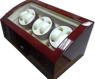 (六四三精品)高級木製可放6只手錶之自...
