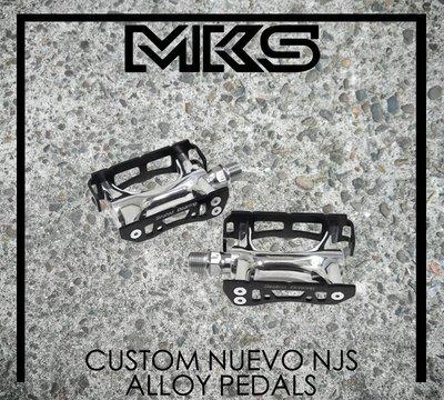 [Spun Shop] MKS Custom Nuevo NJS Alloy Pedals 金屬踏板